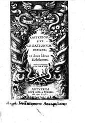 Kērykeion, siue legationum insigne; in duos libros distributum