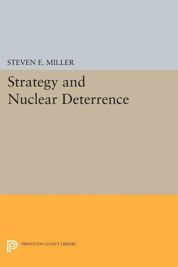 Strategy and Nuclear Deterrence PDF