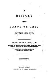 A History of Ohio, Natural and Civil