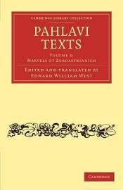 Pahlavi Texts PDF