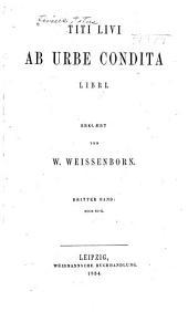 Ab urbe condita libri: Volumes 3-4
