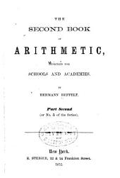The Second [pt. 2 Fourth] Pt. 1 Book of Arithmetic ...