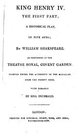 The British Theatre: Or, a Collection of Plays, which are Acted at the Theaters Royal ... : With Biographical and Critical Remarks. King Henry IV. Merchant of Venice. King Henry V. Much ado about nothing, Volume 2
