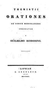 Themistii Orationes ex codice mediolanensi