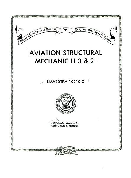 Aviation Structural Mechanic H 3 2
