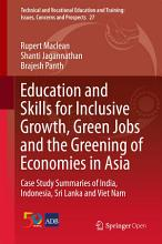Education and Skills for Inclusive Growth  Green Jobs and the Greening of Economies in Asia PDF