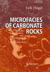 Microfacies of Carbonate Rocks: Analysis, Interpretation and Application, Edition 2