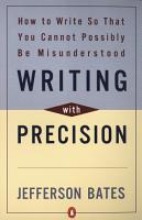 Writing with Precision PDF