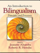 An Introduction to Bilingualism