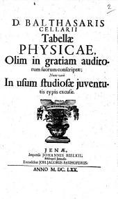 Tabellae physicae