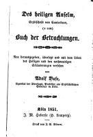 Mystische und ascetische Bibliothek  oder  Sam   lung der Hauptwerke der Mystider und Asceten vorz  glich des Mittelalters PDF