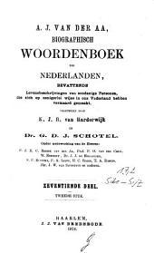Biographisch woordenboek der Nederlanden, bevattende levensbeschrijvingen van zodanige personen, die zich op eenigerlei wijze en ons vaderland hebben vermaard gemaakt: Volume 17,Nummer 2