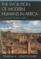 The Evolution of Modern Humans in Africa PDF
