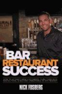 Bar   Restaurant Success