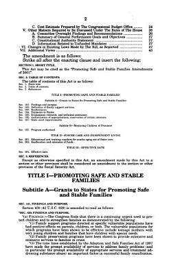 Promoting Safe and Stable Families Amendments of 2001 PDF