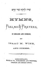Hymns, Psalms and Prayers