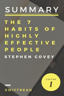 Summary the 7 Habits of Highly Effective People