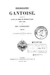 Bibliographie gantoise: 2de partie du XVIIIe siècle