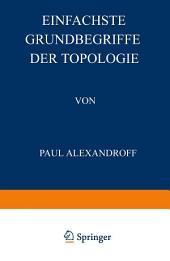 Einfachste Grundbegriffe der Topologie