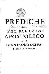 PREDICHE Dette nel Palazzo Apostolico: Pagina 1