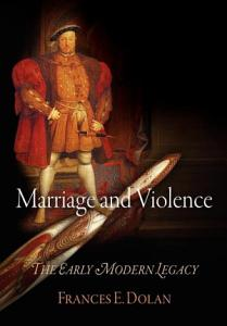 Marriage and Violence Book