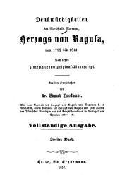 Denkwürdigkeiten des Marschalls Marmont, Herzogs von Ragusa, von 1792 bis 1841: nach dessen hinterlassenem Original, Band 2