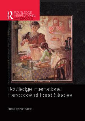 Routledge International Handbook of Food Studies PDF