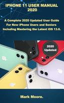 IPhone 11 User Manual 2020