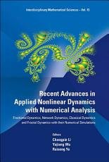 Recent Advances in Applied Nonlinear Dynamics with Numerical Analysis PDF