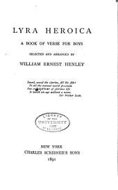 Lyra Heroica: A Book of Verse for Boys