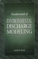 Fundamentals of Environmental Discharge Modeling PDF