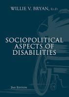 Sociopolitical Aspects of Disabilities PDF