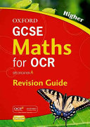 GCSE Maths for OCR Higher Revision Guide PDF