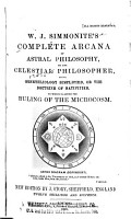 Complete Arcana of Astral Philosophy     PDF