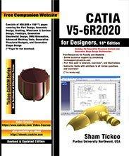 CATIA V5 6R2020 for Designers  18th Edition PDF