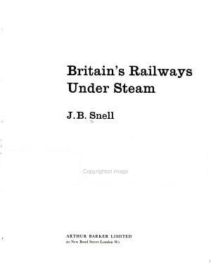 Britain s Railways Under Steam PDF