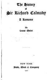 The History of Sir Richard Calmady: A Romance