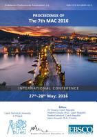 Proceedings of The 7th MAC 2016 PDF