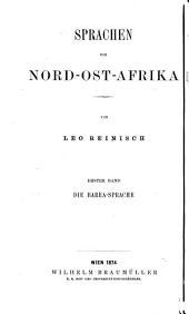 Die Barea-Sprache: Grammatik, Text und Wörterbuch