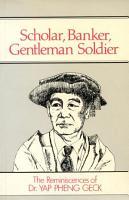 Scholar  Banker  Gentleman Soldier PDF