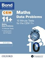 Bond 11+: CEM Maths Data 10 Minute Tests