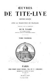 ¿uvres de Tite-Live: (Histoire romaine)