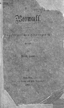 Beowulf  Angels  chsisches Heldengedicht    bersetzt von Moritz Heyne PDF