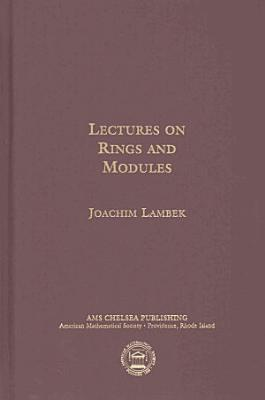 Lectures on Rings and Modules PDF