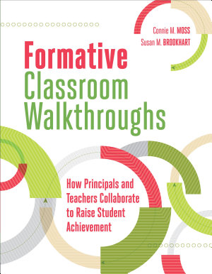 Formative Classroom Walkthroughs