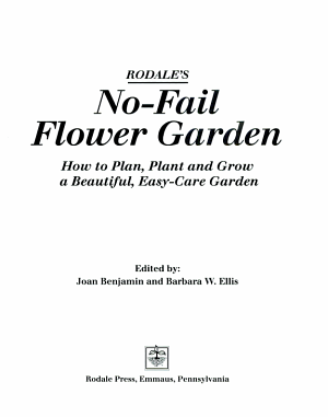 Rodale s No Fail Flower Garden PDF