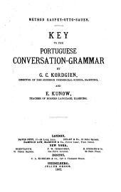 Key to the Portuguese conversation-grammar
