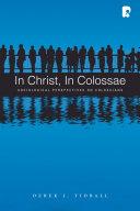 In Christ  in Colossae PDF