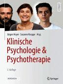 Klinische Psychologie   Psychotherapie PDF