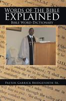 Words of The Bible explained PDF